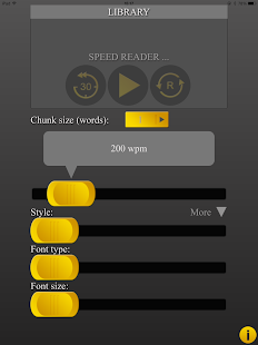 Speed Reading HD - screenshot thumbnail