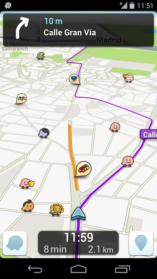 waze social gps maps traffic aplicaciones android en google play. Black Bedroom Furniture Sets. Home Design Ideas