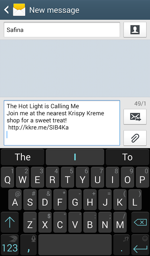 Krispy Kreme Hot Light - screenshot