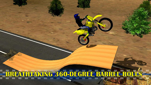 摩托特技自行车3D模拟器