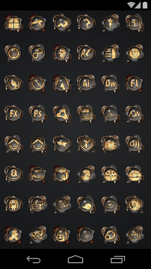 Steampunk - Icon Pack - screenshot