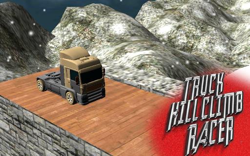 Truck Driving Snow 3D