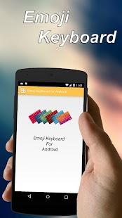 Emoji keyboard for Android - screenshot thumbnail