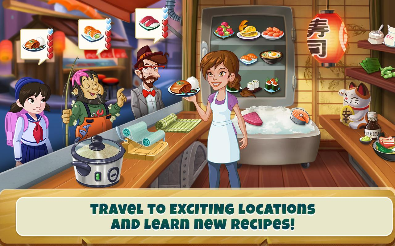 Kitchen scramble cooking game android apps on google play - Jeux de cuisine kitchen scramble ...