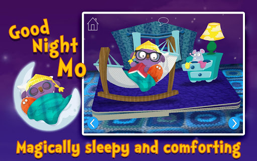 【免費書籍App】Goodnight Mo Bedtime Book-APP點子