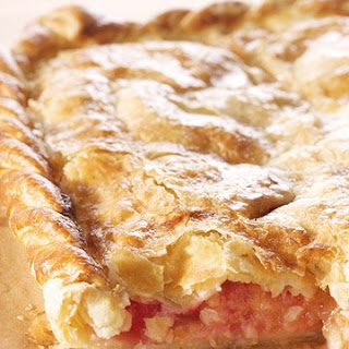 Apple-Raspberry Slab Pie.