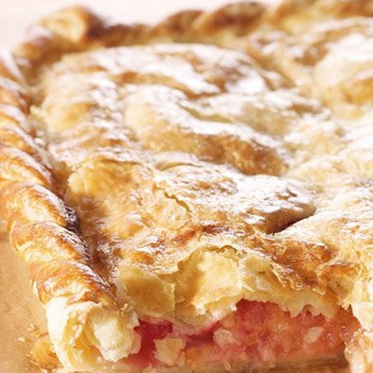 Apple-Raspberry Slab Pie Recipe