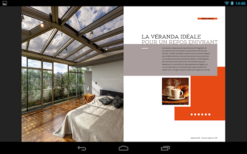 Véranda Magazine- screenshot thumbnail