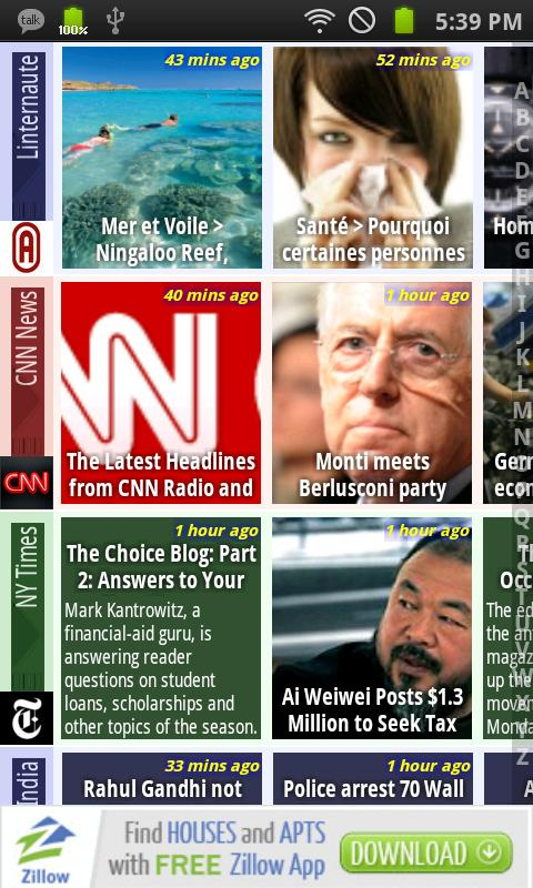 Mobo World News - screenshot