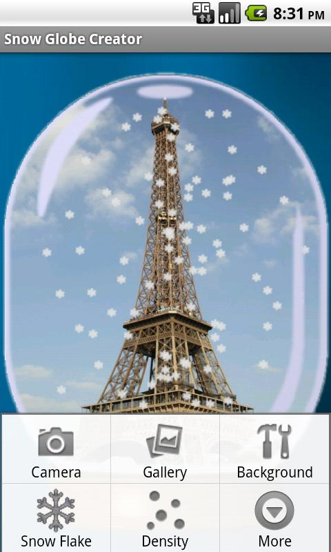 Snow Globe Creator - screenshot