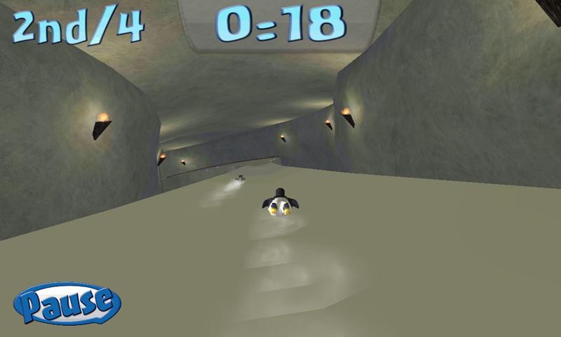 Penguin Snowcap Challenge Lite- screenshot