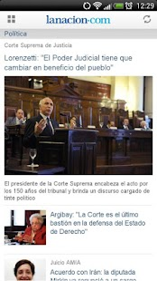 LA NACION - screenshot thumbnail