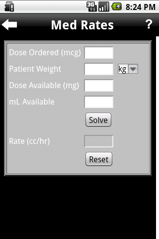 Nursing Tool & IV Drips - screenshot
