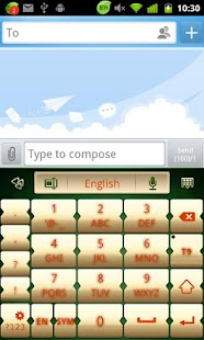 GO Keyboard Jingle bells theme - screenshot thumbnail
