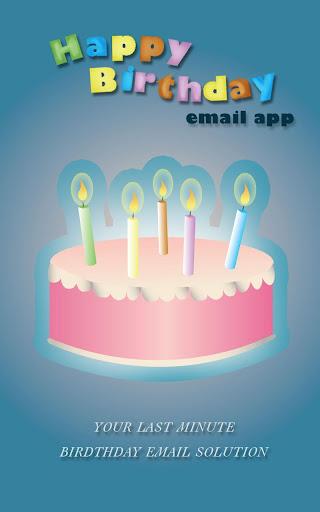 Birthday Email Creator