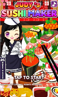 Judy's Sushi Maker -cooking