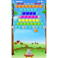 Screenshot of Apple Bubbles (bubble shooter)