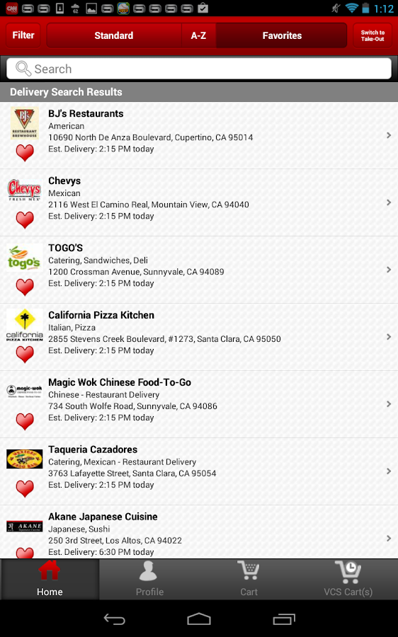 Waiter.com Food Delivery- screenshot