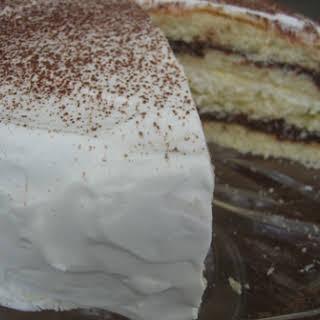 Black and White Chocolate Cake.