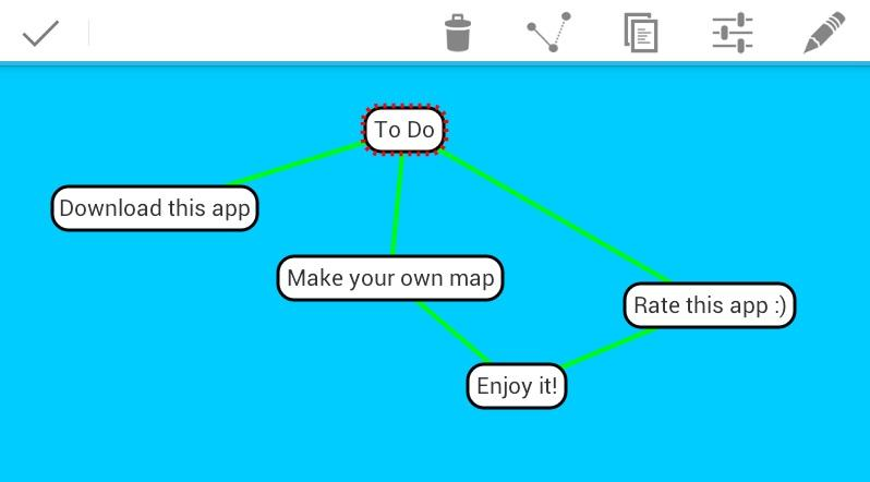 SharpMindMap- screenshot