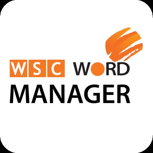 WSC Word Manager LOGO-APP點子
