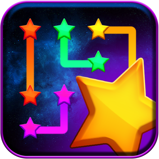 Connect Stars Icon
