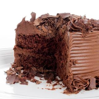 Decadent Devil's Food Chocolate Cake