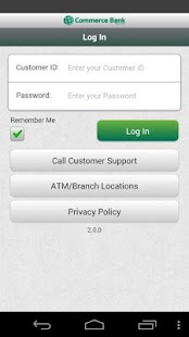 Commerce Bank for Android - screenshot thumbnail