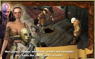Screenshot of The Bard's Tale