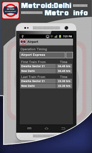 Metroid:Delhi Metro info