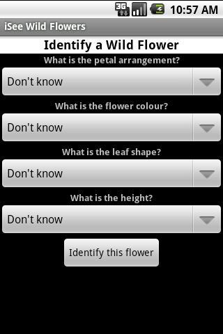 iSee Wild Flowers- screenshot