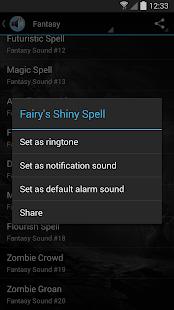Coolest Notification Sounds screenshot