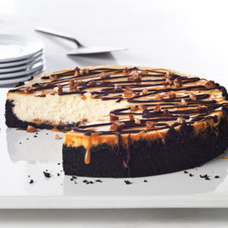 Ultimate Turtle Cheesecake.