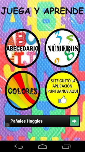 ABC Numeros y Colores-niños