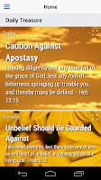 Screenshot of Daily Treasure Devotional