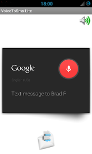Voice To SMS PRO- screenshot thumbnail