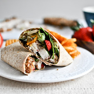 Pecan Crusted Chicken Wraps.