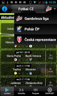 Fotbal CZ - screenshot thumbnail