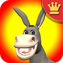 Talking Donald Donkey AdFree icon