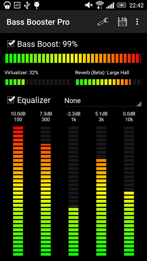 Bass Booster Pro- screenshot