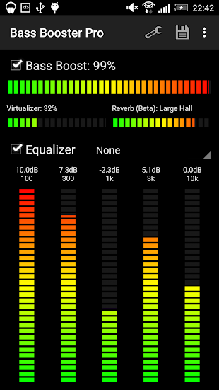 Bass Booster Pro- screenshot thumbnail
