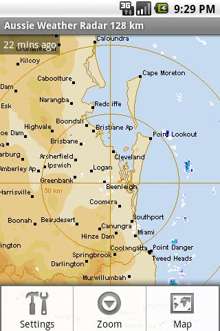 Aussie Weather Radar - screenshot