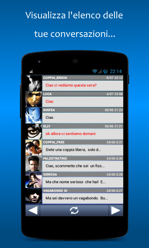 Meet - Chat, Flirt & Incontri- screenshot