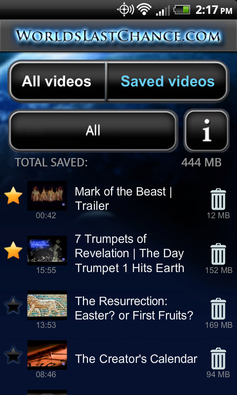 WLC Bible Prophecy Videos- screenshot