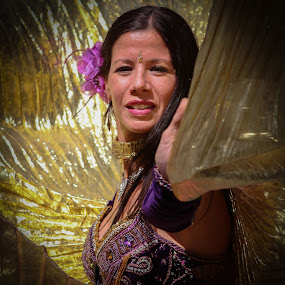 Golden Dancer by VAM Photography - People Street & Candids ( parade, woman, new york, places, dancer )