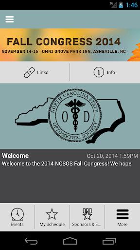 NCSOS Fall Congress