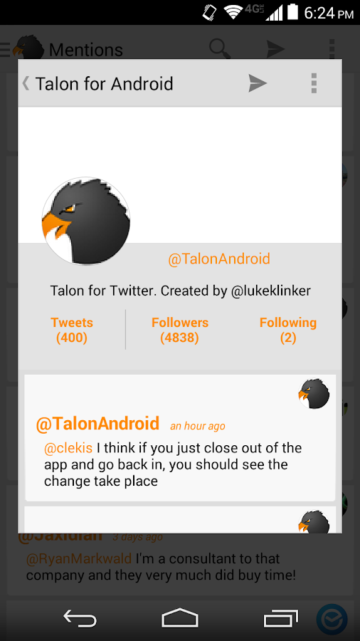 Reddit-style White Talon Theme - screenshot