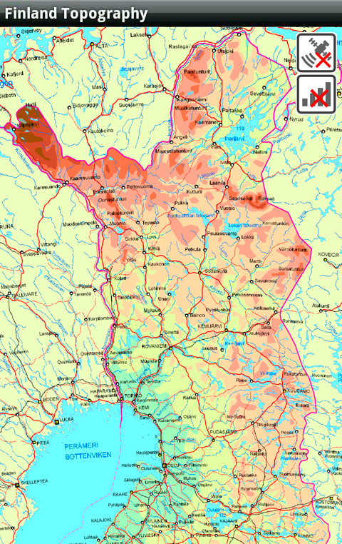 Finland Topography Android Apps on Google Play