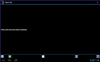 Screenshot of Robot Talk