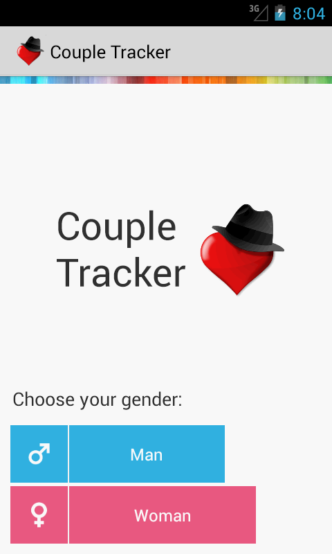 Couple Tracker - Phone monitor - screenshot